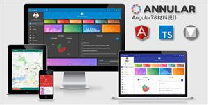 Angular7&Material Design管理后台模板